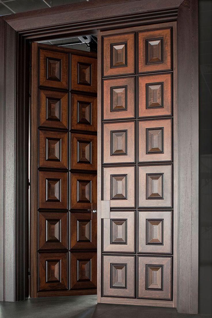 Panel main solid wood door hpd113 main doors al habib panel - To Replace Glass Doors