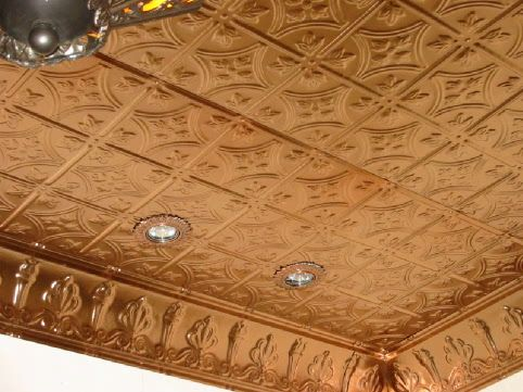 tin ceiling for laundry room