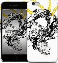 Bob Marley by Theodore Laourdekis - iPhone Cases & Skins - $35.00