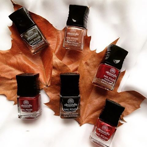 New Fall Collection  #alessandro #alessandroGR #alessandrointernational #alessandronails #notd #manicure #nailpolish #pedicure #gel #striplac #lacsensation #nailcare #beauty #nailsoftheday #perfectnails #ilovenails