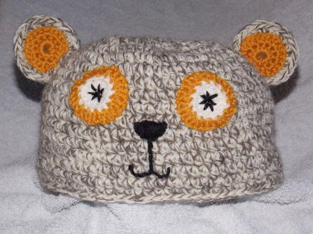 Cute Bear Hat with ears. £6.00