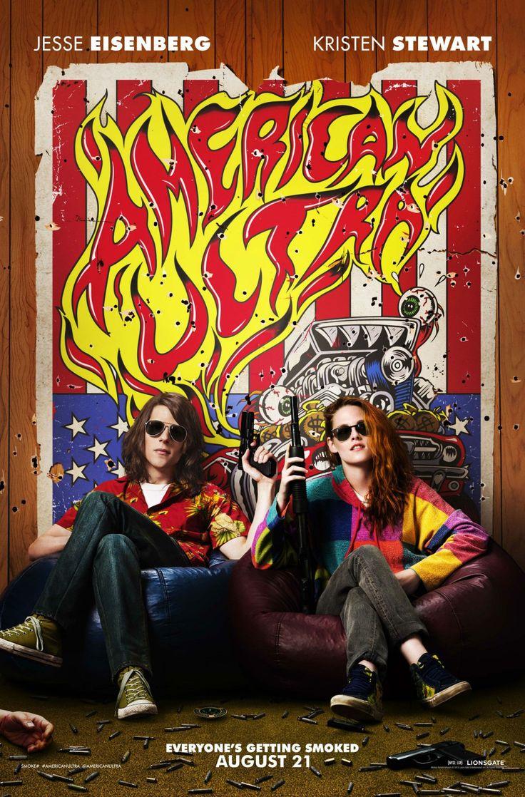 American Ultra avec Jesse Eissenberg et Kristen Stewart. Retrouvez ma chronique sur mon blog!