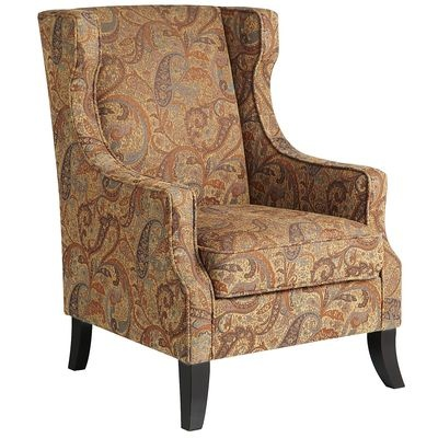 Love the coloring of this one too  Pier One  Alec Wing Chair   Paisley. 17 Best images about Furniture on Pinterest   Armchairs  Furniture