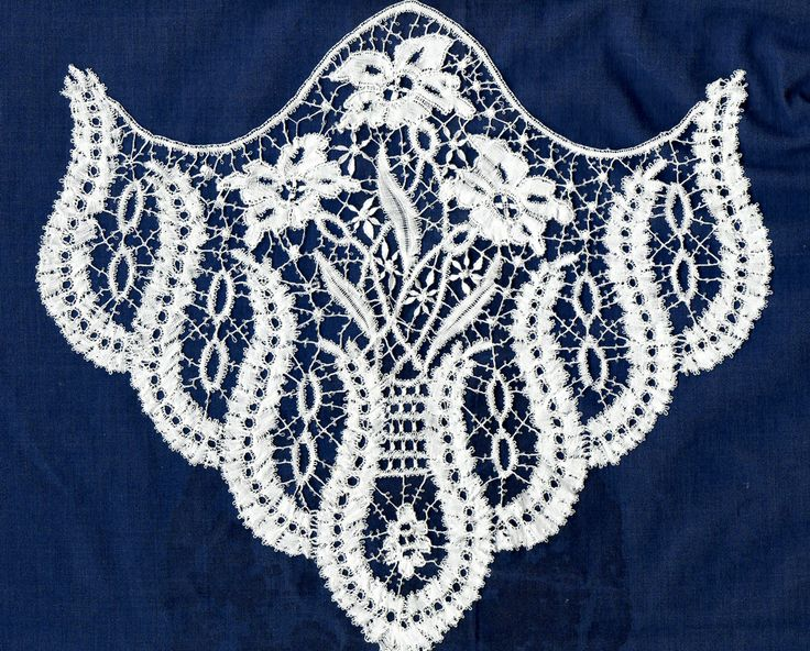This pattern was drafted from a piece in the Victoria and Albert Museum by Margaret Tite and Anne Day