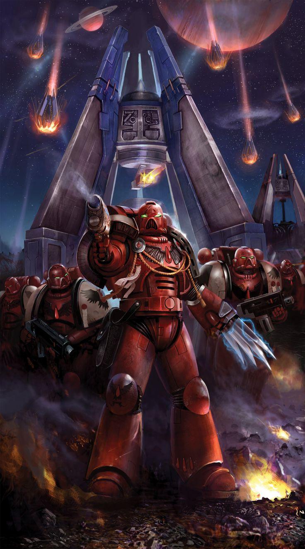 Warhammer 40k death company wallpaper - Fantasy Flight Games News The Successor Chapters