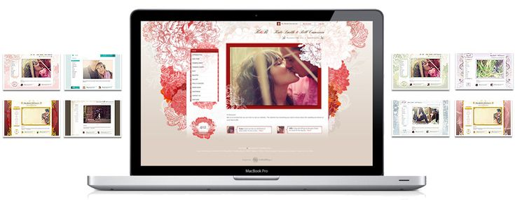 Wedding Website Overview - Premium and Free Wedding Websites