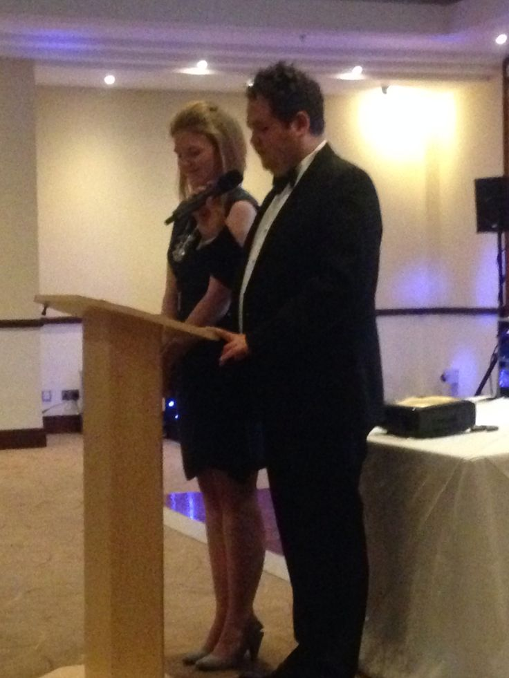 MK's Amy part hosting the award with JCI's Gareth. #JCI #publicspeaking