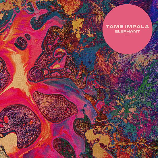 Tame Impala - Elephant.  Psychedelic Artworks by Leif Podhajsky   Inspiration Grid   Design Inspiration