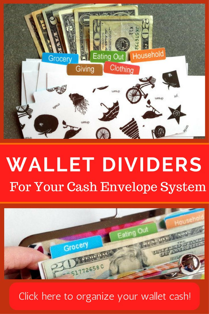 Looking for wallet dividers for your cash envelope system? Check out this set of 6 perfect for Dave Ramsey's envelope budget system.  Check them out! #ad | envelope cash system | wallet dividers | cash envelope system | Dave Ramsey | Dave Ramsey's cash envelope | budget | pay off debt | organize wallet | organize cash |