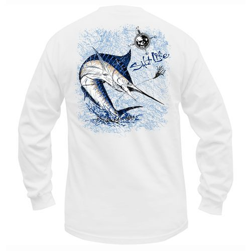 salt life men 39 s marlin long sleeve t shirt fishing