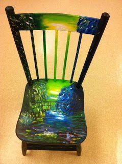 Artist's chairs Art @ the Heart blog