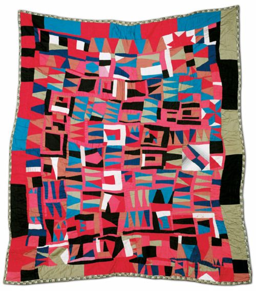 Antique African-American quilt