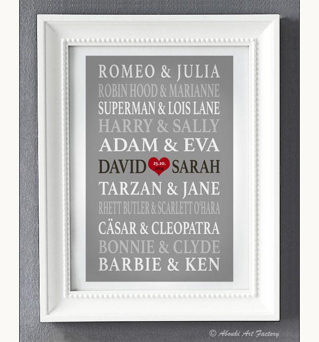 25+ melhores ideias de Paar geschenke valentinstag no Pinterest - bemalte mobel romantischen motiven