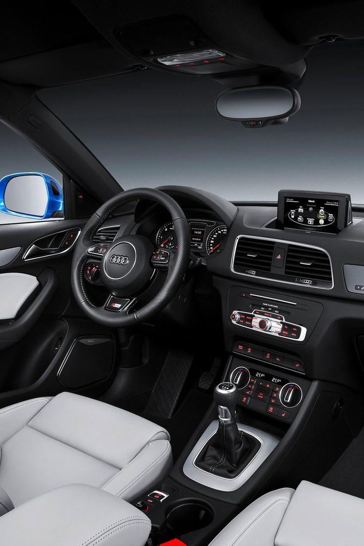 Audi Q3 (2015) S-Line Interior  ¿Lo quieres? Encuentra las mejores #ofertas en http://www.cochessegundamano.es/audi/q3/