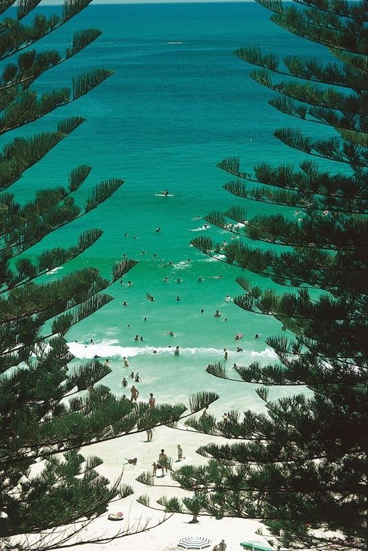 Yamba Main Beach - NSW, Australia