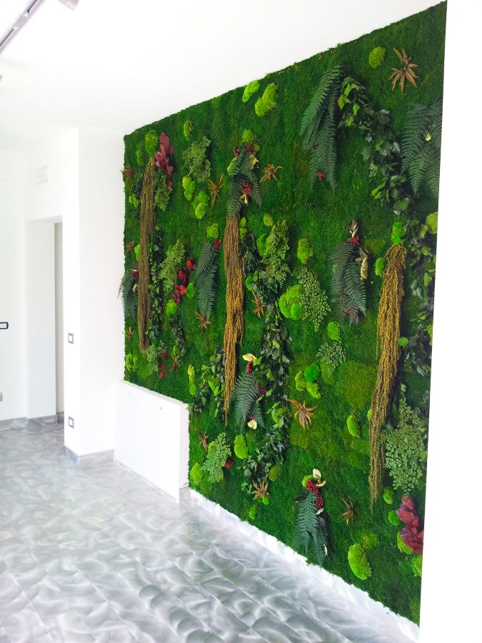 Stabilized #plant walls and #panels. No water, no sunlight, no soil, no leaves fall. #Vegetal range of approximately 50 stabilized #essences. Exclusively #handmade. #greenwalls #interior #design #architecture   Info: bit.ly/LinfaglamEN