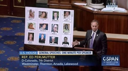 Who: Representative Ed Perlmutter (D-Colorado) When: July...