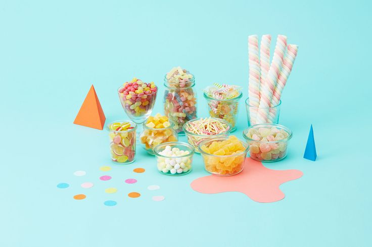 Candy : Marshmallows, gummies, hard candies, and soft candies!