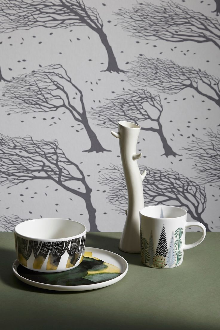 Bring the forest into your home with the latest wallpapers and textiles