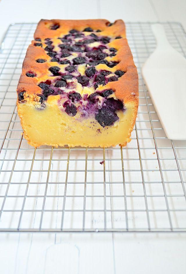 Ricotta cake met blauwe bessen (Uit Paulines Keuken)