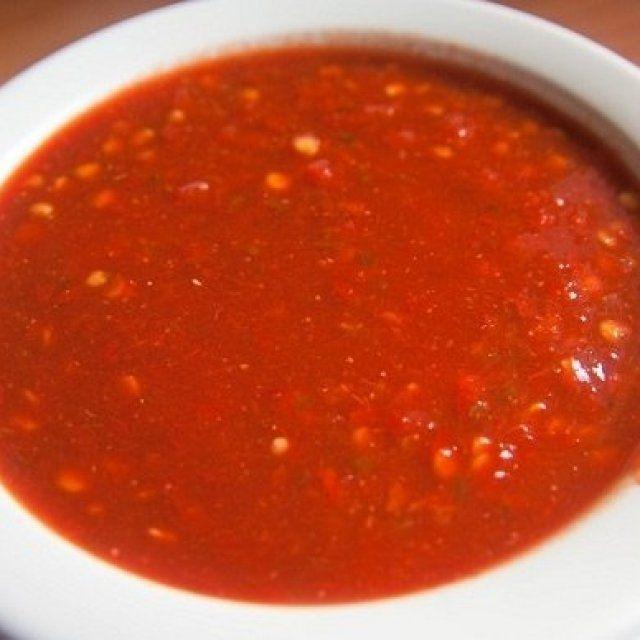 Salsa Roja para Tacos al Pastor