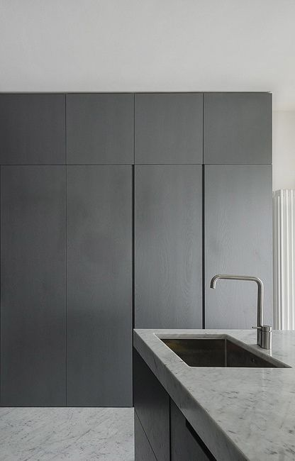 #architecture #design #interiors #kitchen #style #minimalism -  FABIO CANDIDO, MARCO SARRI, MASSIMO FIORIDO | Apartment in Pisa