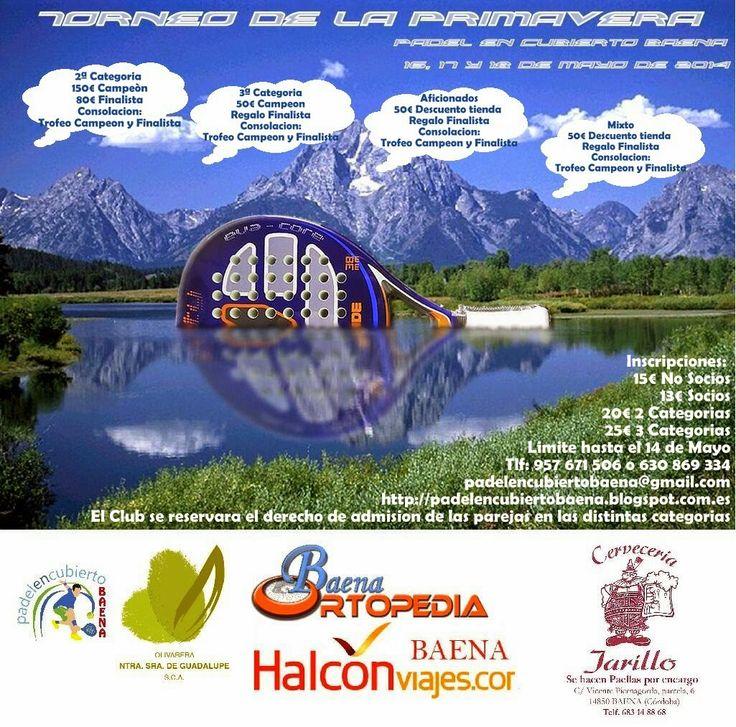 Padel en Cubierto Baena: Torneo de la Primavera