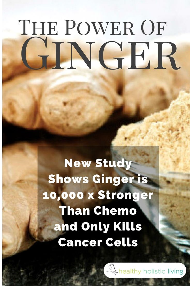 New Study Shows Ginger Is 10,000x Stronger Than Chemo. #ginger; #turmeric #cancer #natural #remedy #chemotherapy