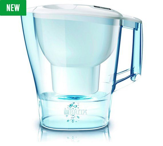Buy Brita Aluna Water Filter Jug - Cool White at Argos.co.uk, visit Argos.co.uk to shop online for Water jugs and filters, Kitchenware, Cooking, dining and kitchen equipment, Home and garden