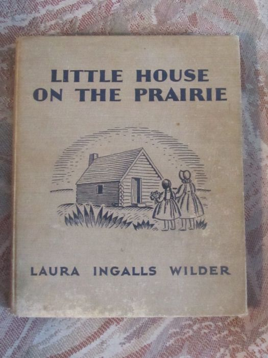 My sister really loved Little House On The Prairie.  She made me watch the show.  Because you know - you only had a few channels in those days.  She read the book all the time.  Obviously this is a female thing, because I don't know any man would be caught dead with this book.  I mean, unless the he was suffocated under a stack of these things.
