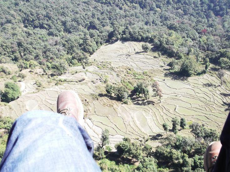 #paragliding #podróże #Pokhara #paralotnia #jezioro #Phewa