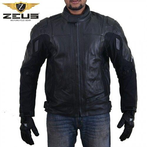 Leather Jackets India Fashion Armored Leather Motorcycle Jacket