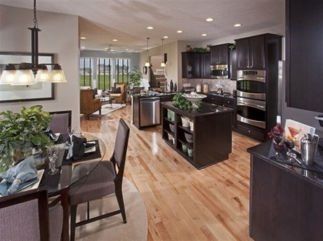 Black cabinets gray walls oak floors the westchester for Kitchen cabinets yonkers