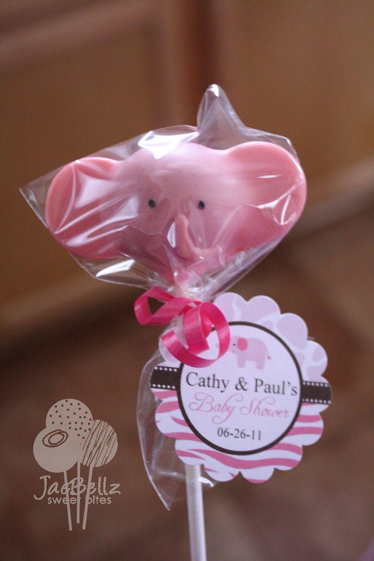 cake pop ideas wedding shower%0A pink elephant cake pops