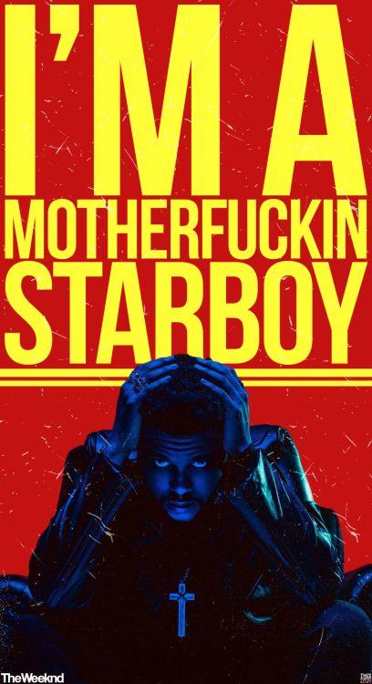 S T A R B O Y #The_Weeknd