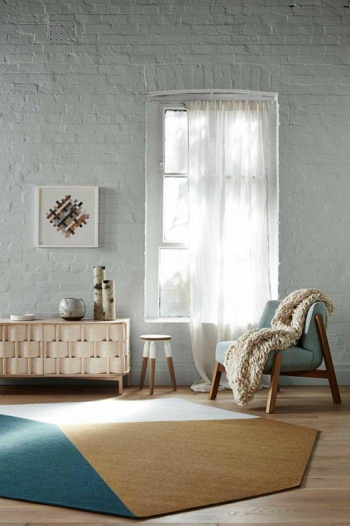 tapis rond pour le salon, choisir le meilleur design