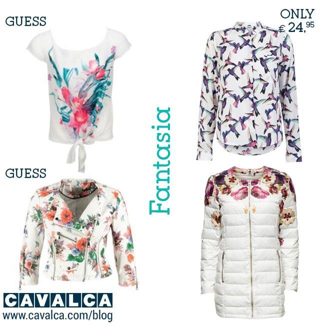 Nuovi arrivi fantasia per la primavera 2015! #inspiration #fashion #outfit #guess #only #moda #cavalca