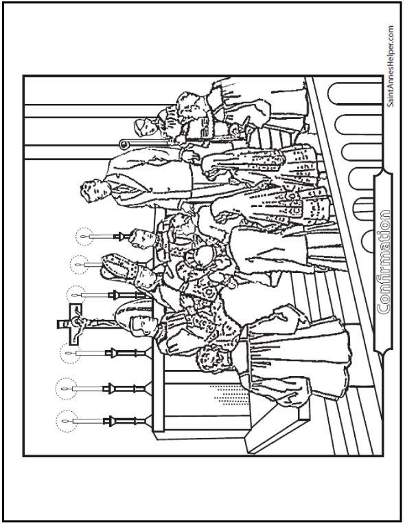 Best 25 Catholic Sacraments Ideas On Pinterest Catholic 7 Sacraments Coloring Page