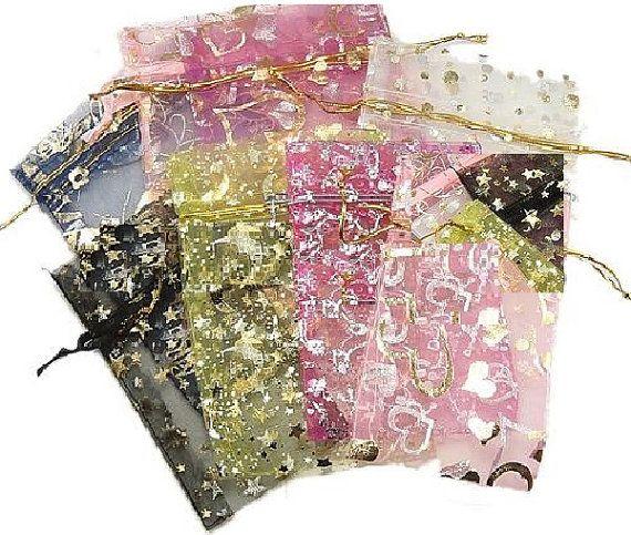 500 pcs Organza Gift Bags 8x12cm3.15x4.7 by GoodChoiceSupplies