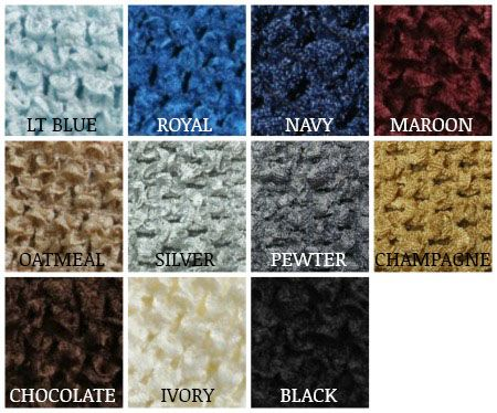 "8"" Crochet Headbands | Large Crochet Tutu Top with Lining $3.19"
