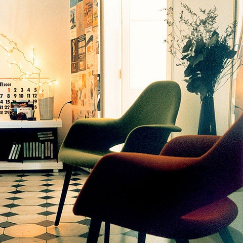 Charles Eames & Eero Saarinen