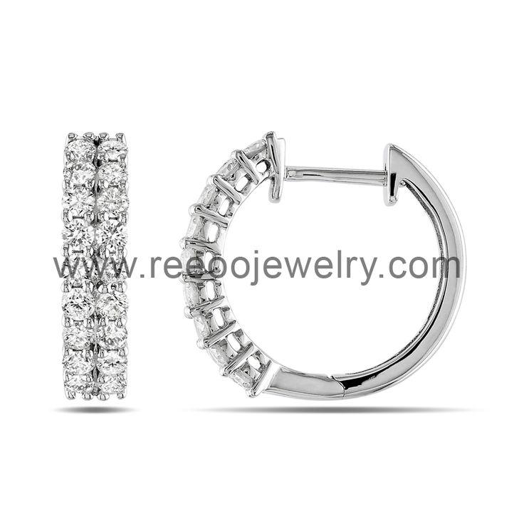 Hot sale covering the ear designs silver earring E050 www.reeoojewelry.com