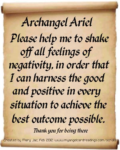 It's FREE to send YOUR prayer off to the Archangels HERE ➡ http://www.myangelcardreadings.com/scrolls