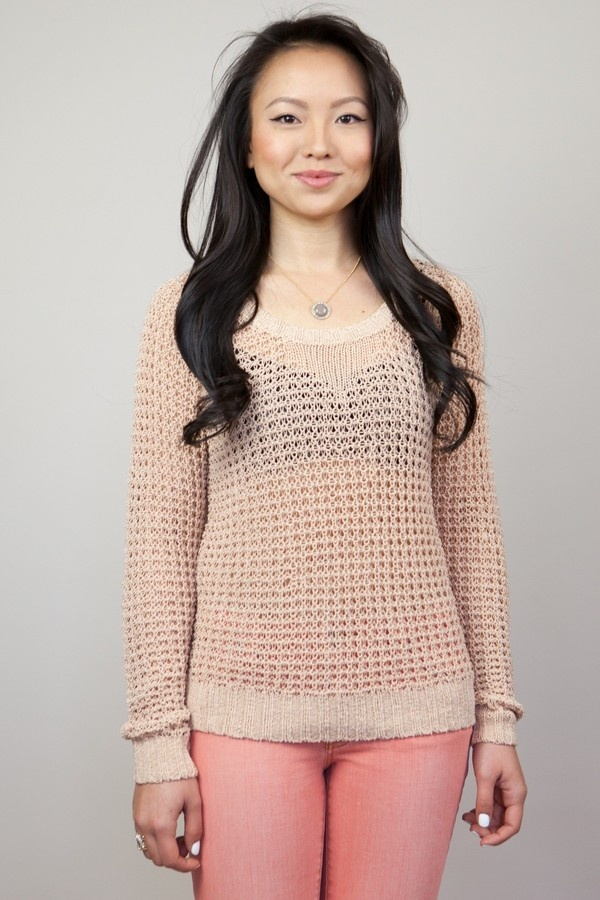 Empire Chunky Knit Sweater  by Left on Houston  at Chloe Rose - SFChunky Knits Sweaters, Sweaters 128 00, Empire Chunky, Knit Sweaters, Hamilton Sweaters