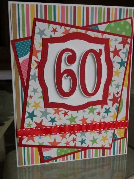 17 Best ideas about 60th Birthday Cards – Happy 60th Birthday Cards