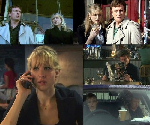 Lucy Punch Vexed | Jack Armstrong ( Toby Stephens ) et Kate Bishop ( Lucy Punch )