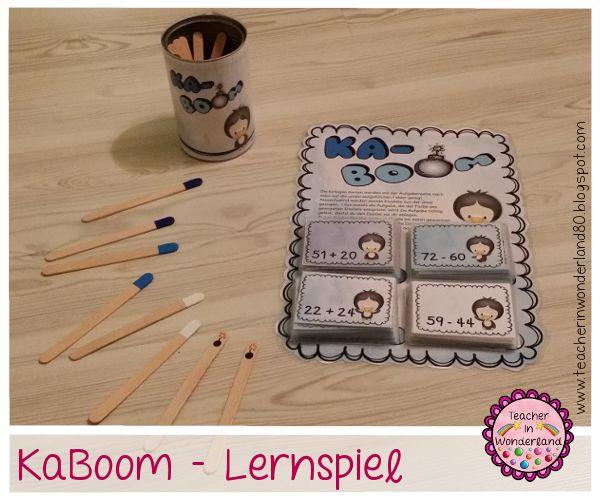 Teacher In Wonderland: KaBoom - Lernspiel