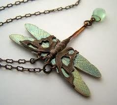 dragon fly art deco -
