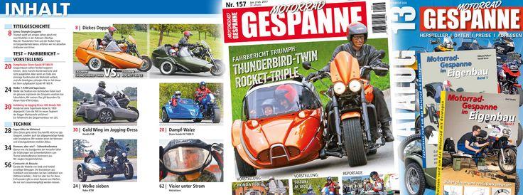 MOTORRAD-GESPANNE Zeitschrift der Gespannfahrer info@motorrad-gespanne.de