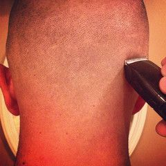How to first time head shaving.  Step by step instructions on how to shave your head.